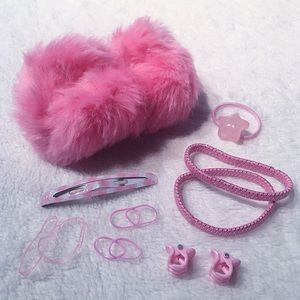 Accessories - pink accessory bundle